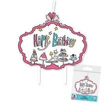 Jill Kaarsje Happy Birthday DIY