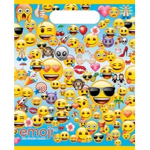 Emoji Uitdeelzakjes 8 stuks