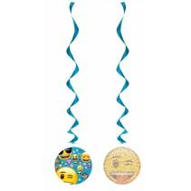 Emoji Hangdecoratie 70cm 3 stuks