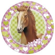 Paarden Borden Party 23cm 8 stuks