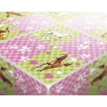 Paarden Tafelkleed Party 180x120cm