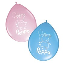 Peppa Pig Ballonnen 8 stuks