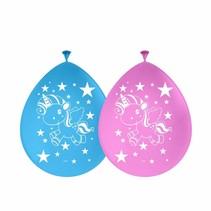Unicorn Ballonnen 8 stuks