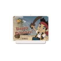 Jake and the Neverland Pirates Happy Birthday Kaars