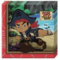 Jake and the Neverland Pirates Servetten 20 stuks