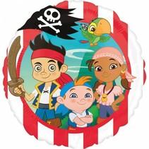 Jake and the Neverland Pirates Helium Ballon 43cm leeg