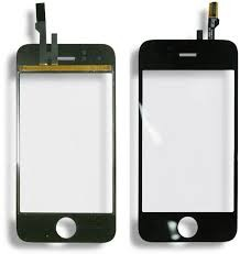 Apple iPhone 3G: Scherm (glas en touch) incl. Frame