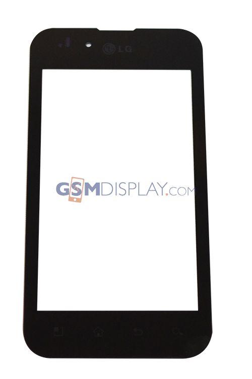 LG P970 Optimus Black | Scherm (glas en touch)