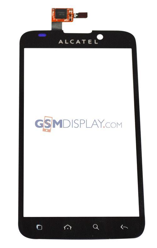 Alcatel One Touch 995: Origineel scherm (glas en touch)