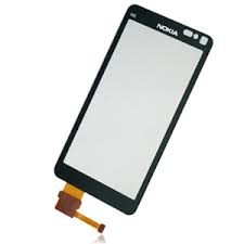 Nokia N8   Origineel scherm (glas en touch) met frame
