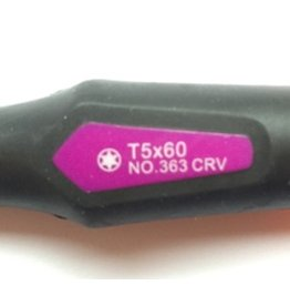 Pfenga Torx 5 / T5 schroevendraaier (pro-serie)