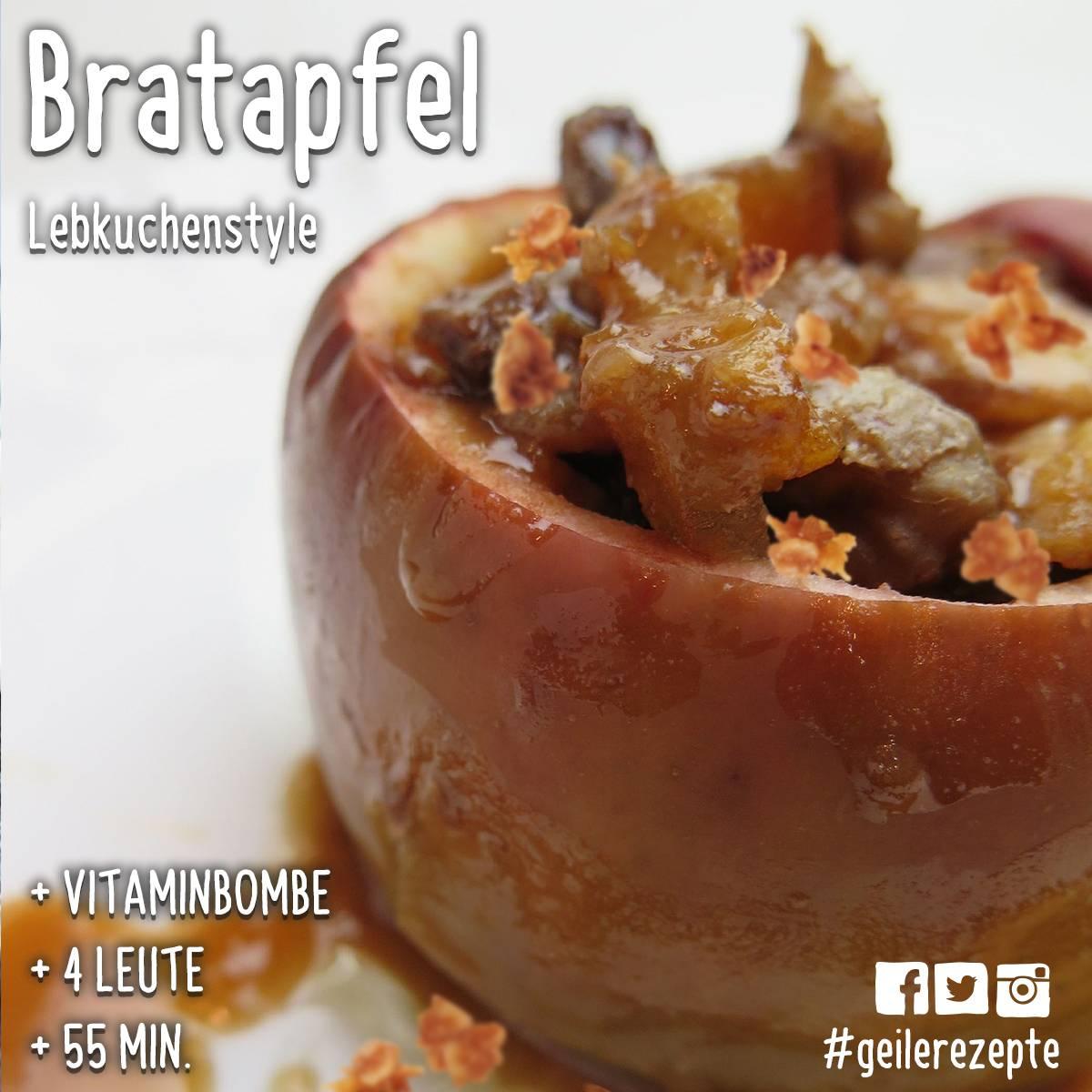 #geilerezepte: Bratapfel