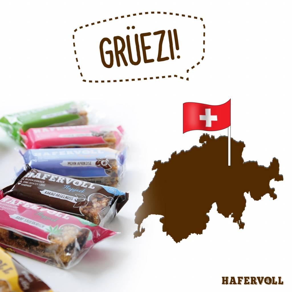 Jetzt auch Versand in die Schweiz