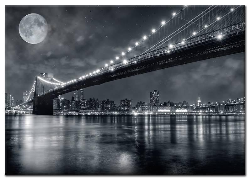 Nachten in new york op canvas doek my little gallery - Sfeer new york ...