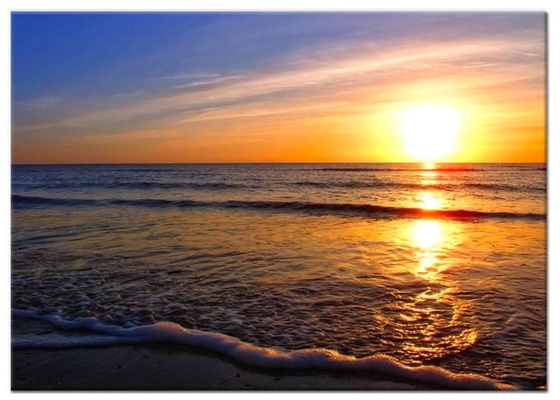 Foto schilderij strand en zee my little gallery - Foto van slaapkamer schilderij ...