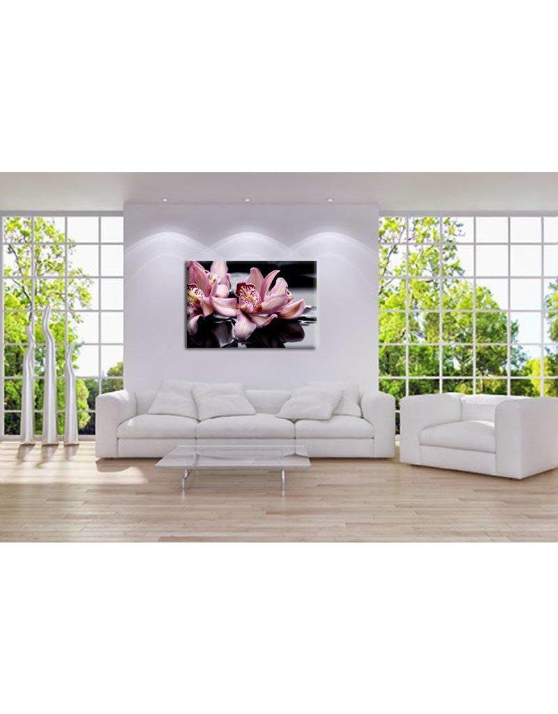 Roze orchidee zen stenen my little gallery - Kleur zen kamer ...