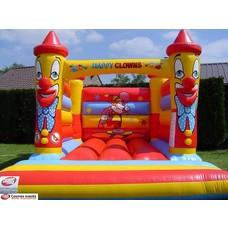 Springkasteel Happy Clown 3x4 meter