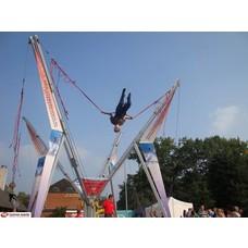 Bungee trampoline 10x10m