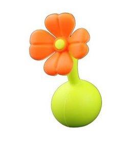 Haakaa Stop oranje bloemetje