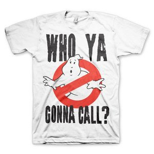 Ghostbusters Who ya gonna call? T-Shirt