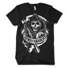 Sons of Anarchy SOA Scroll Reaper T-Shirt