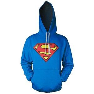 Superman Logo Hooded Sweater