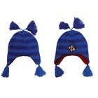 Sonic Blue Striped Beanie