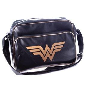 Wonder Woman Logo Shoulder Bag