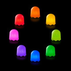 Pac-Man Ghost Colour Changing LED-Lamp