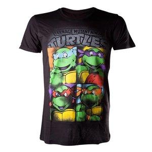 Teenage Mutant Ninja Turtles Retro Faces T-Shirt
