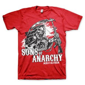 Sons of Anarchy Men of Mayhem rode T-shirt
