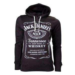 Jack Daniel's Classic logo Dames Sweater met kap