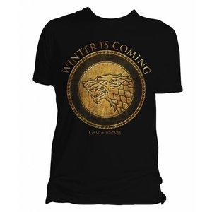 Game of Thrones T-shirt Stark Goud logo