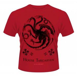 Game of Thrones T-shirt Targaryen Rood