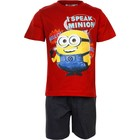Despicable Me Korte Minion Kinder Pyjama Rood