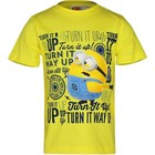 Despicable Me Minion Kinder T-shirt Geel