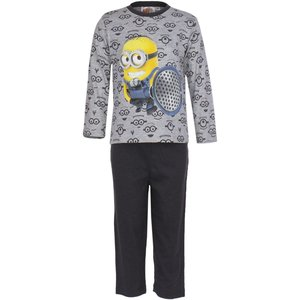 Despicable Me Lange Minion Kinder Pyjama (Grijs)
