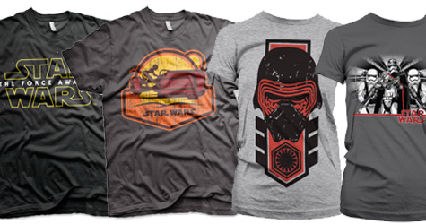 Star wars The force awakens T-shirts