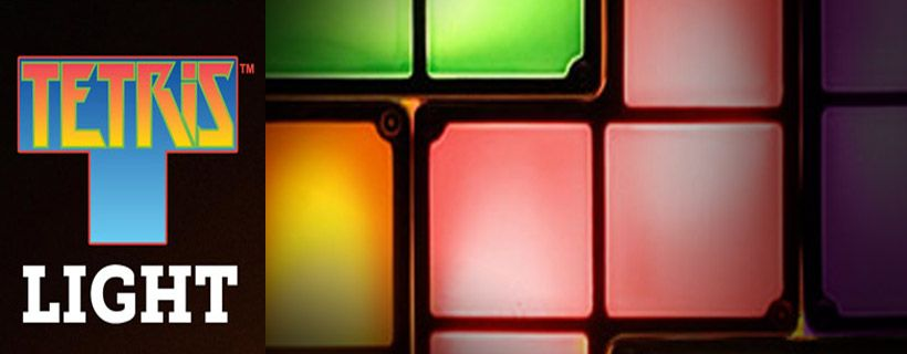 Leuke sfeerlampen van Tetris en Pacman
