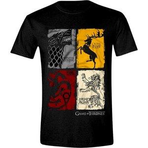 Game of Thrones T-shirt Vintage wapenschilden