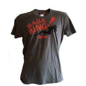 Sopranos Bada Bing T-shirt (donkergrijs)