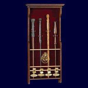 Harry Potter Toverstok kast voor 4 toverstokken
