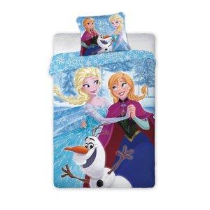 Frozen Dekbedovertrek Anna en Elsa Dansen 140 x 200 Katoen