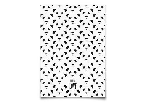 Eef Lillemor panda love - kaart