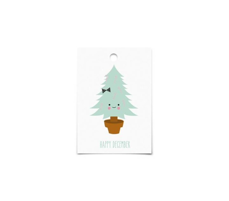 Gift Tags : Happy December