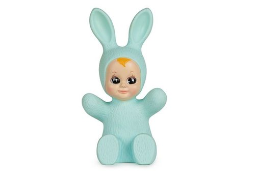 Goodnight Light bunny baby lamp mint