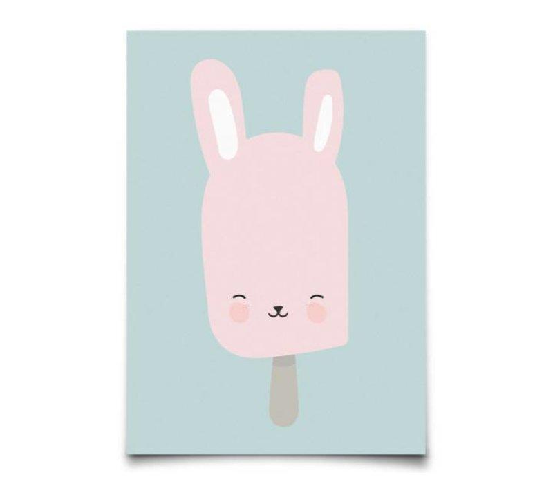 Bunny pop kaart