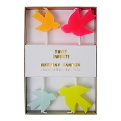 Meri Meri toot sweet bird candles