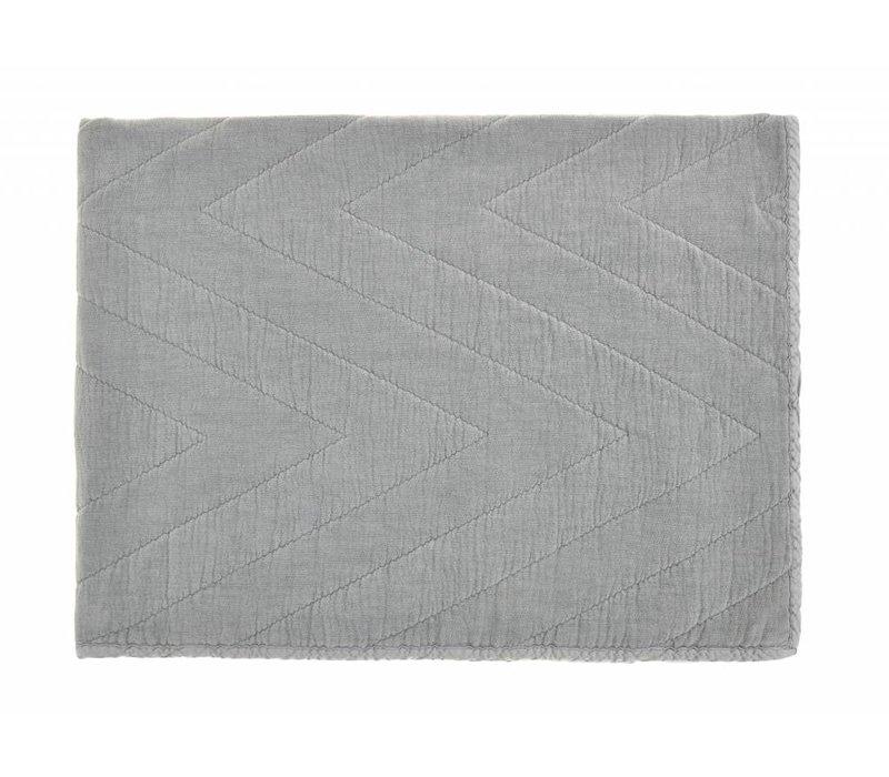 quilt eugenie - grey 80x100