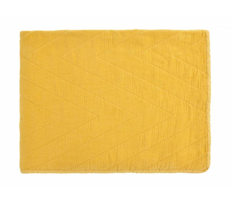 quilt eugenie - yellow 80x100